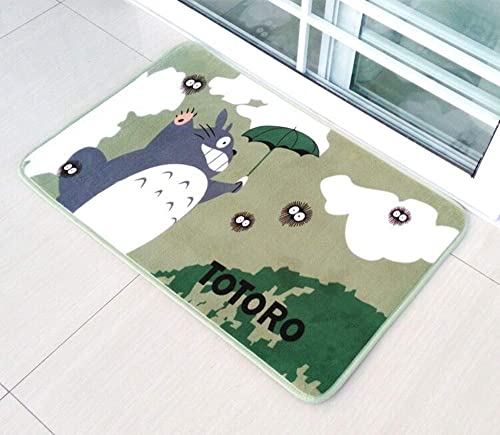 Super Soft Totoro Area Rug Bathroom Rugs Absorbent Memory Foam Bath Mat Cute Rug
