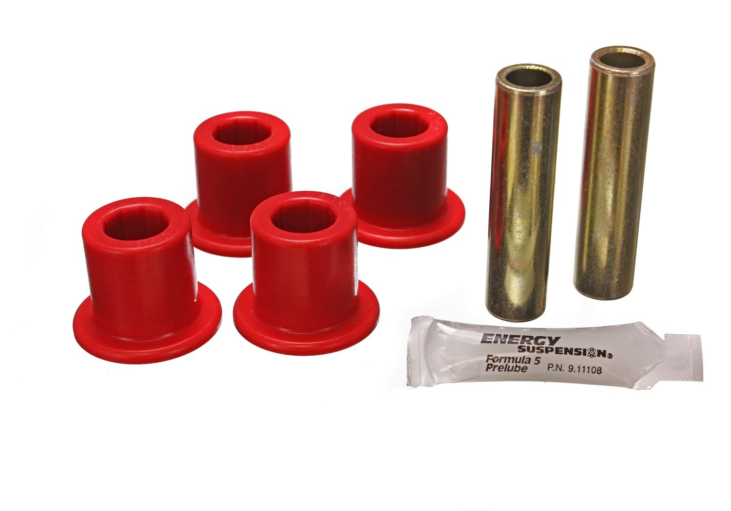 Energy Suspension 2.2120R JEEP FRAME SHACKLE BUSHING SET by Energy Suspension