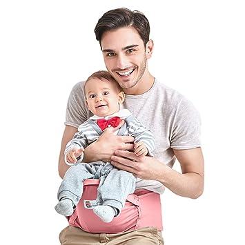 1f9f6460b4b Amazon.com   Kidsidol Baby Hip Seat Carrier Infant Waist Stool Carrier  Comfortable Waist Carrier Hip Seat Belt Carrier Durable for 0-36 Months Baby  (Pink)   ...