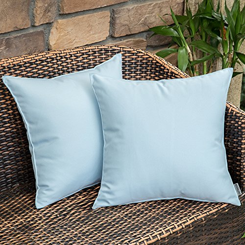 Light Blue Outdoor Cushions in US - 1