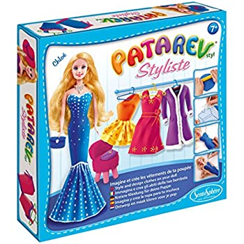 SentoSphere Patarev Styliste Clay Fashion Design Kit - Chloe