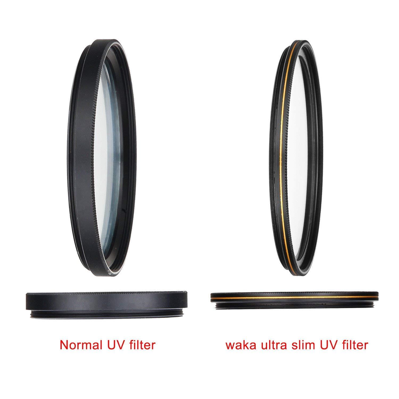 ultra delgado 16 capas m/últiple revestimiento/ultravioleta para lentes Canon Nikon Sony DSLR MC filtro UV 67 mm filtro/de/protecci/ón/de lentes