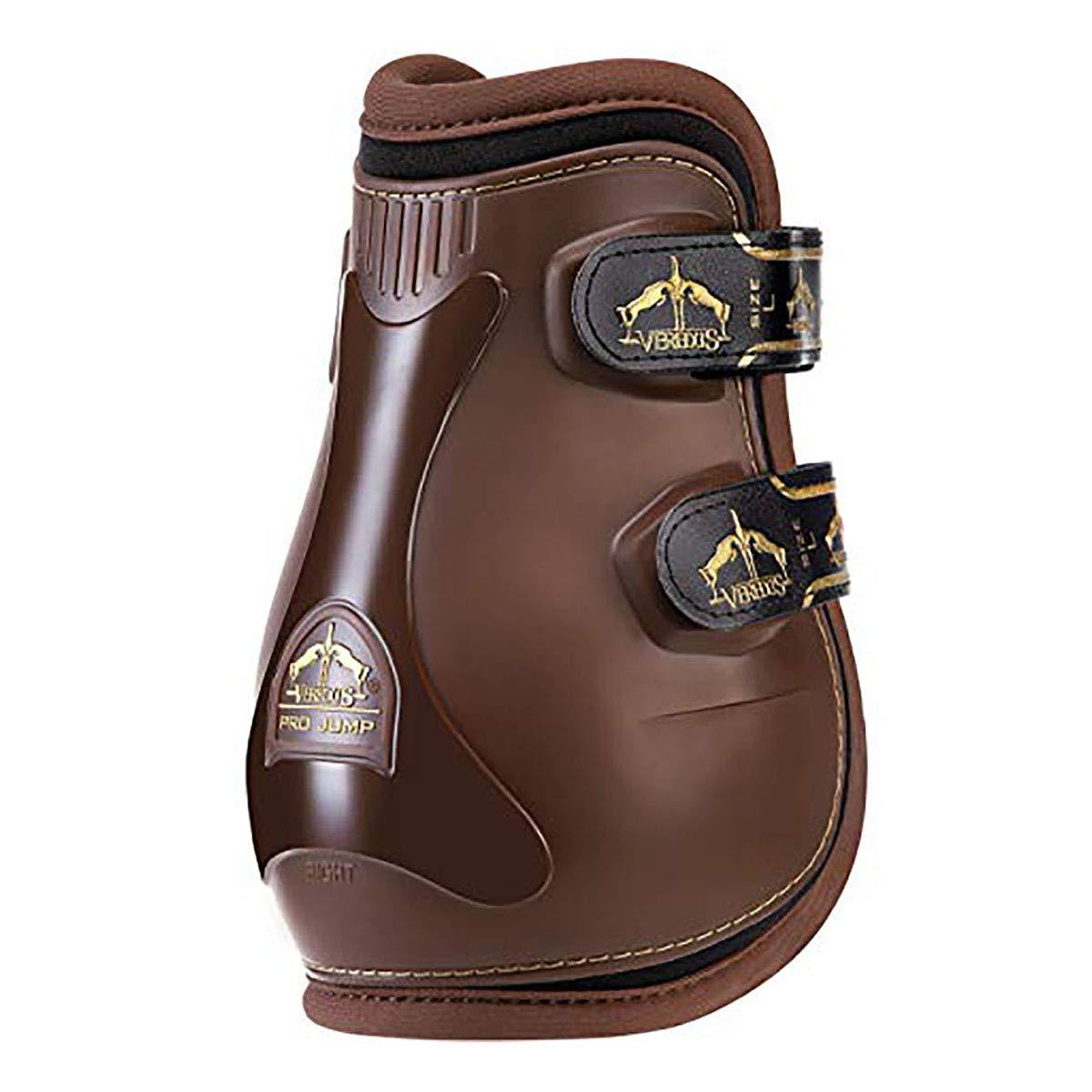 Ve赤us - Fetlock Gran SLAM PRO ジャンプ - ホースブーツ - イタリア製 ブラウン Medium: : H 6\