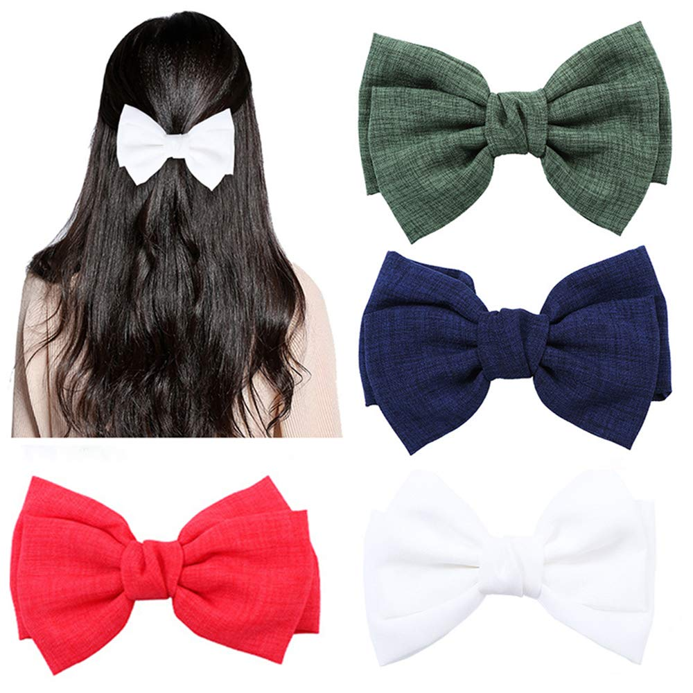 Amazon.com : Hair Bow Clips, French Hair Bows Barrette Hair