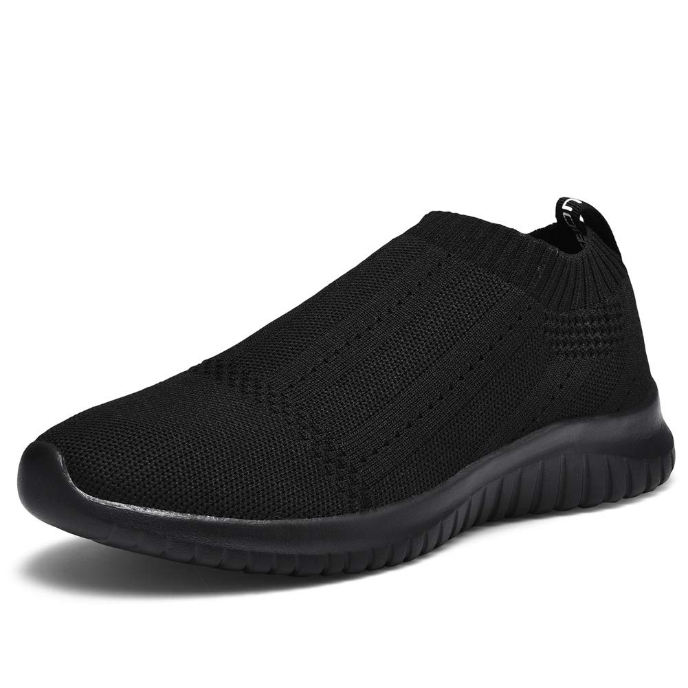 TIOSEBON Women's Walking Sock Shoes Lightweight Slip on Breathable Yoga Sneakers