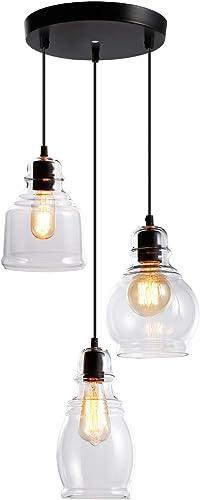 ESCENA Vintage Glass Pendant Light