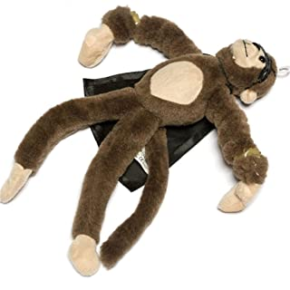 Funny Surprise Monkey Toy,Funny Flying Flingshot Slingshot Monkey Plush Toys Screaming Surprise Toy Kids Educational Toys Monkey Plush Toys by ABCsell