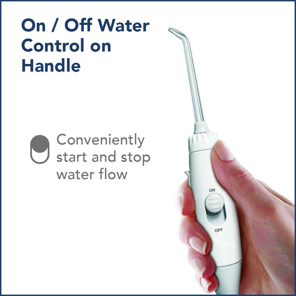 Waterpik Water Flosser Electric Dental Countertop Oral Irrigator For Teeth – Aquarius Professional, WP-660 White by Waterpik (Image #6)