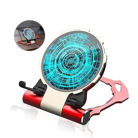 Modenny 10W Magic Qi Cargador inalámbrico Iron Man Cargador ...