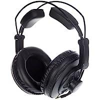 Superlux HD668B Negro Circumaural auricular - Auriculares (Circumaural, Alámbrico, 10-30000 Hz, 98 dB, 3 m, Negro)