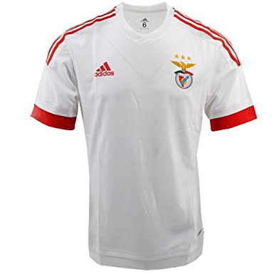 50b8056da07 Adidas Benfica Performance: Lisbonne SLB A Jsy P White A99879, Weiß ...
