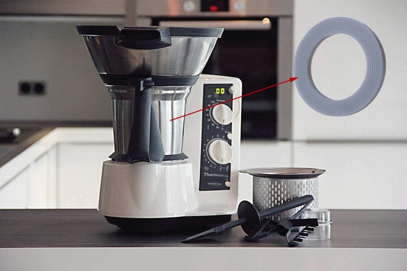 Poweka Junta de Cuchillas para Vorwerk Thermomix TM21 TM31 Robot de Cocina: Amazon.es