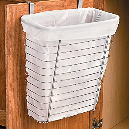 Over The Cabinet Wastebasket