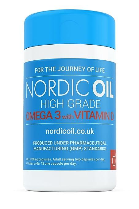 Omega 3 - Aceite de Pescado con Vitamina D 1000MG - 60 comprimidos