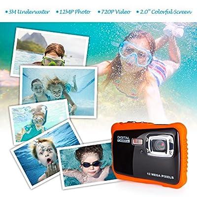 FLAGPOWER Waterproof Kids Camera from FLAGPOWER