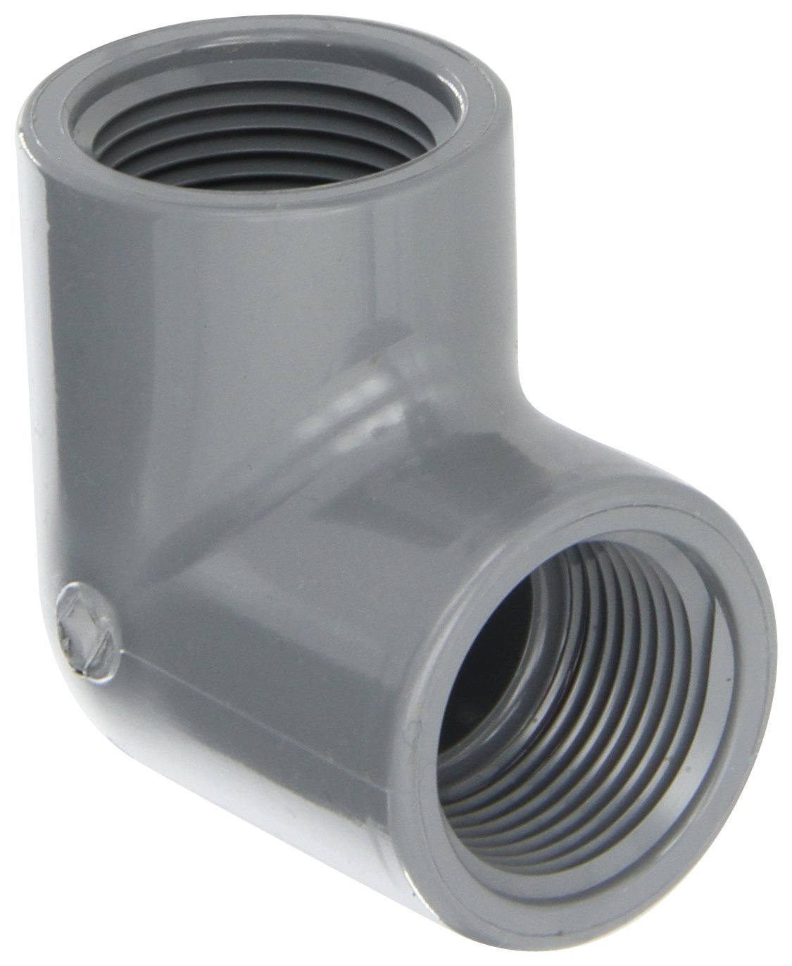 Schedule 80 Tee 1//2 NPT Female NIBCO 4512-3-3 Series PVC Pipe Fitting