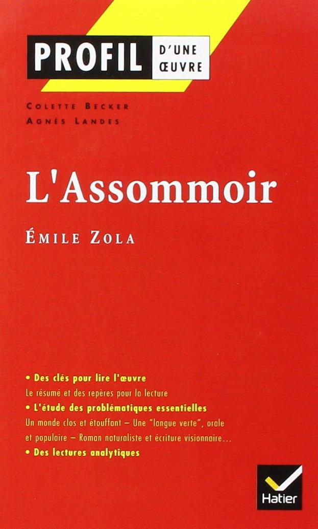 L'Assomoir, Emile Zola (Profil d'une Oeuvre)
