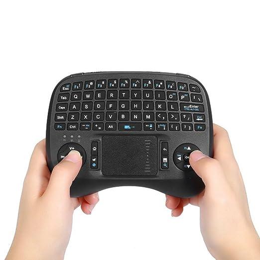 2 opinioni per iPazzPort mini tastiera wireless con touchpad per Android TV Box KP – 810 – 21T