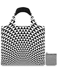 LOQI Reusable Tote Bag, Prism Print, United States Carry-On