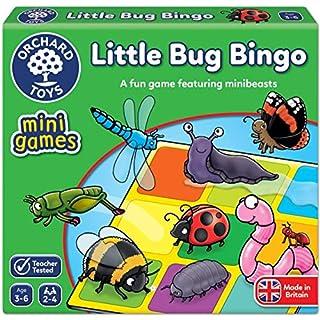 Orchard Toys Little Bug Bingo Mini/Travel Game, Multi, One Size