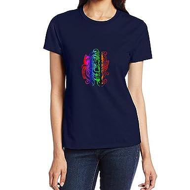 Amazon Com Eastsmooth Basic Pattern Funny Women S T Shirt