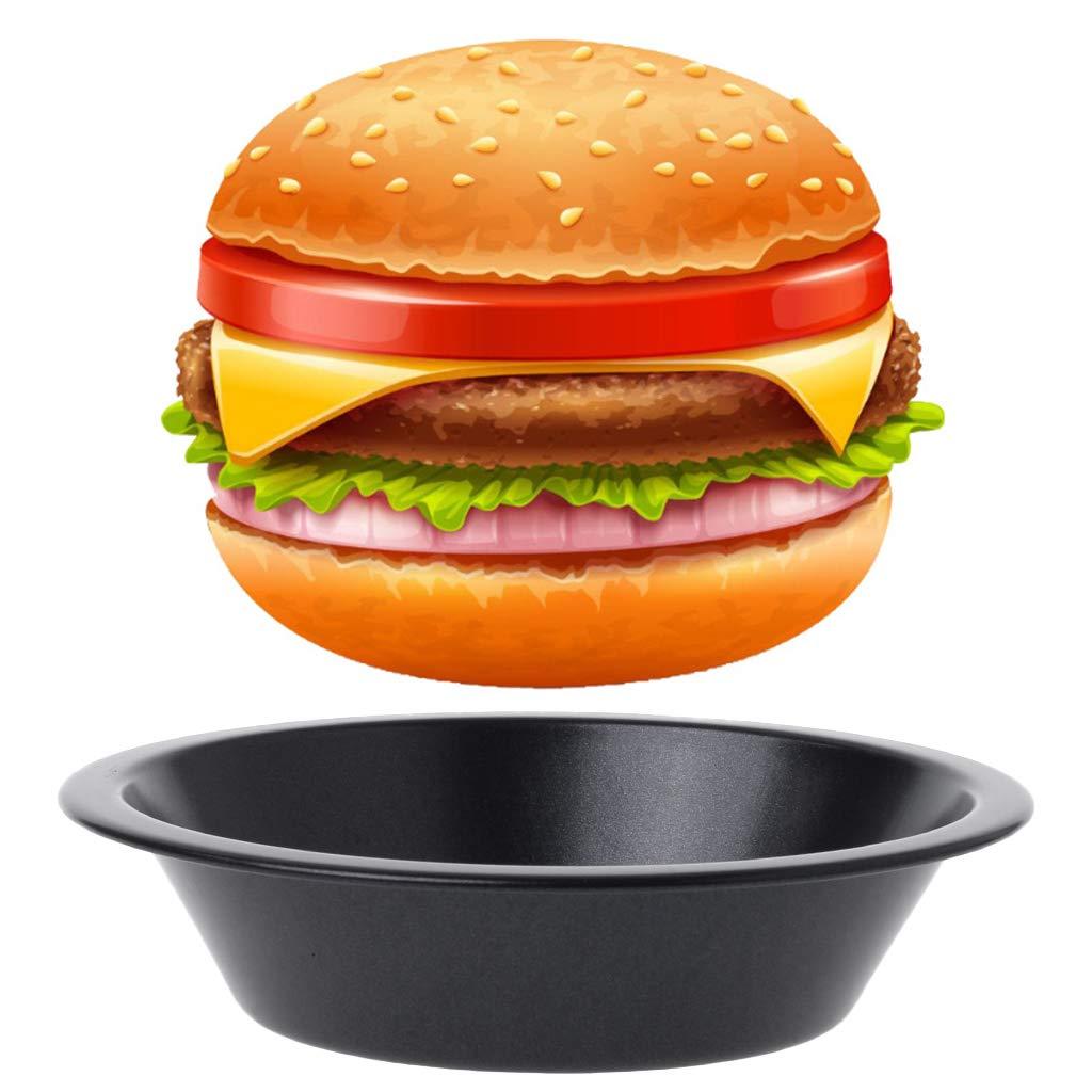 Molde Antiadherente para Hornear Hamburguesas y Tartas Yintiod