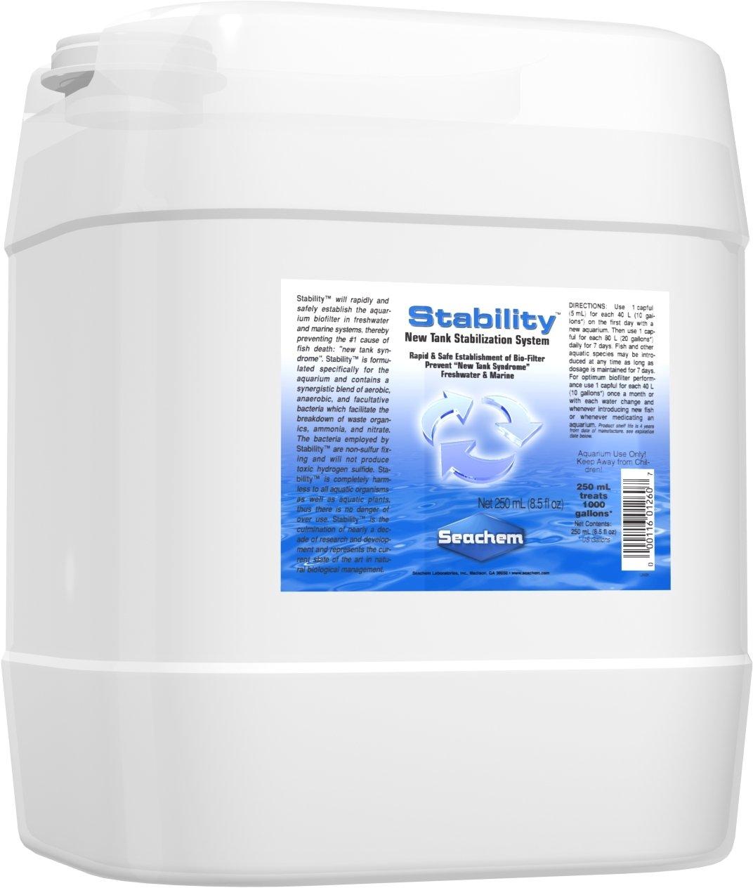 Stability, 20 L / 5.3 fl. gal. by Seachem
