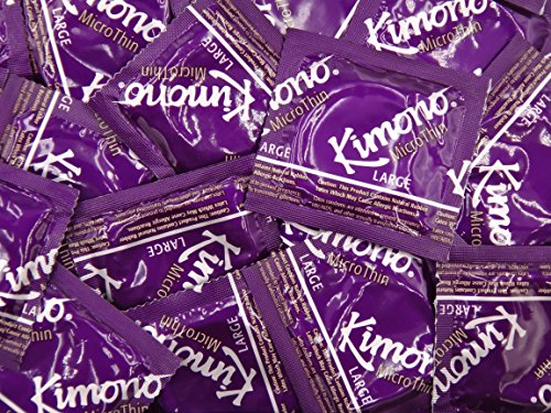 Kimono MicroThin LARGE Condoms - 25 - Microthin Condoms