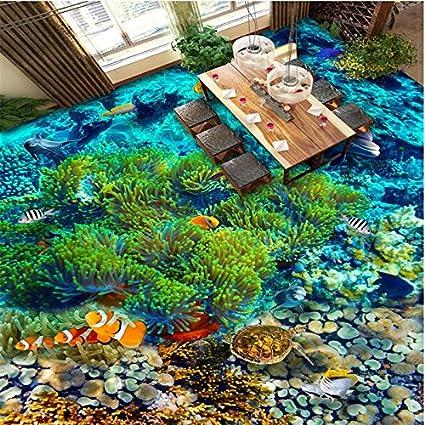Amazon Com Shah Custom 3d Flooring Underwater Tropical Fish 3d