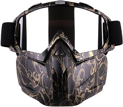 Amazon.com: Outamateur - Máscara táctica para motocicleta ...