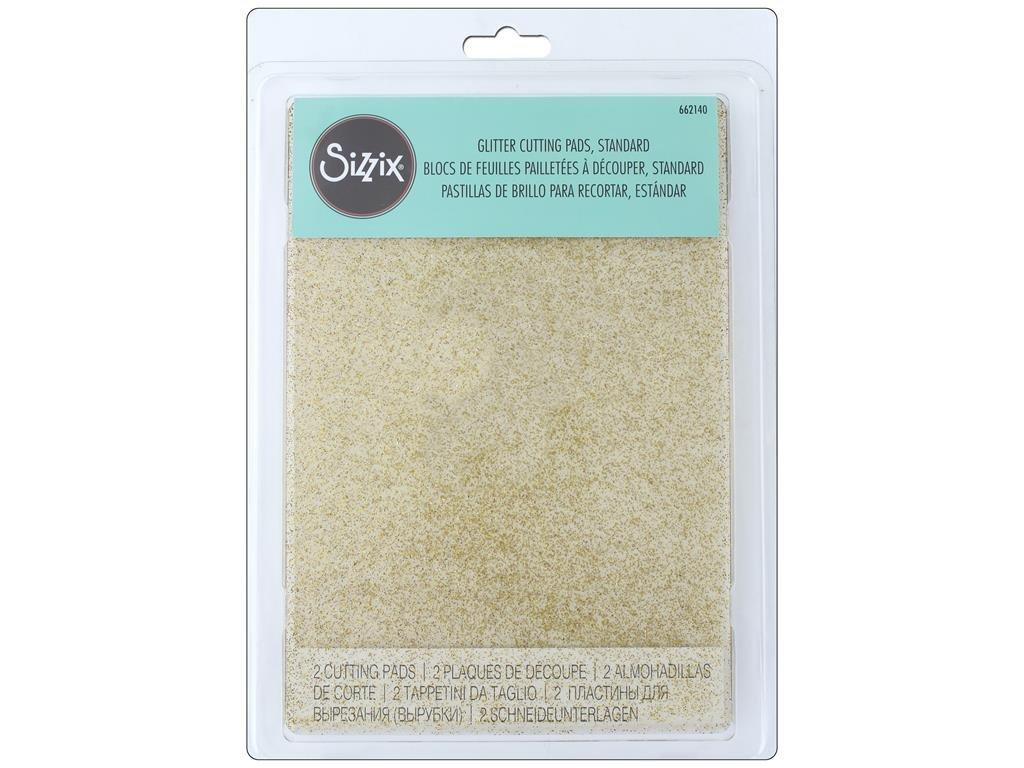 Sizzix Cutting Pad Standard Clear Gold Glitter Gld