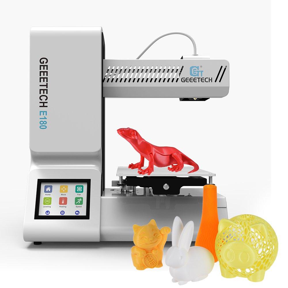 Geeetech Impresora 3D E180 Mini-Wifi-Pantalla táctil color
