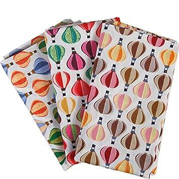 Algodón Bundle cuartos de costura del globo del aire caliente de la ...