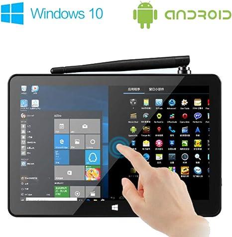 HaoYiShang 8.9 Caja de Smart Boot Smart Box Mini PC Windows 10 Android 4.4 Caja de conexión de Intel: Amazon.es: Informática