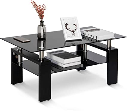 Table Basse De Salon En Verre Tremp Chrom Table De Salon Table