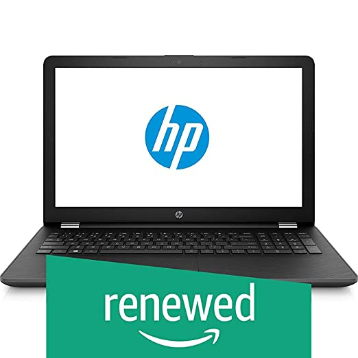 Renewed  HP 15 bw088ax AMD Quad CoreDual Core A9 9420 APU Laptop  3 GHz/4   GB/1 TB/39.62 cm  15.6 /DOS/2   GB Graphics  Smoke Grey  Laptops