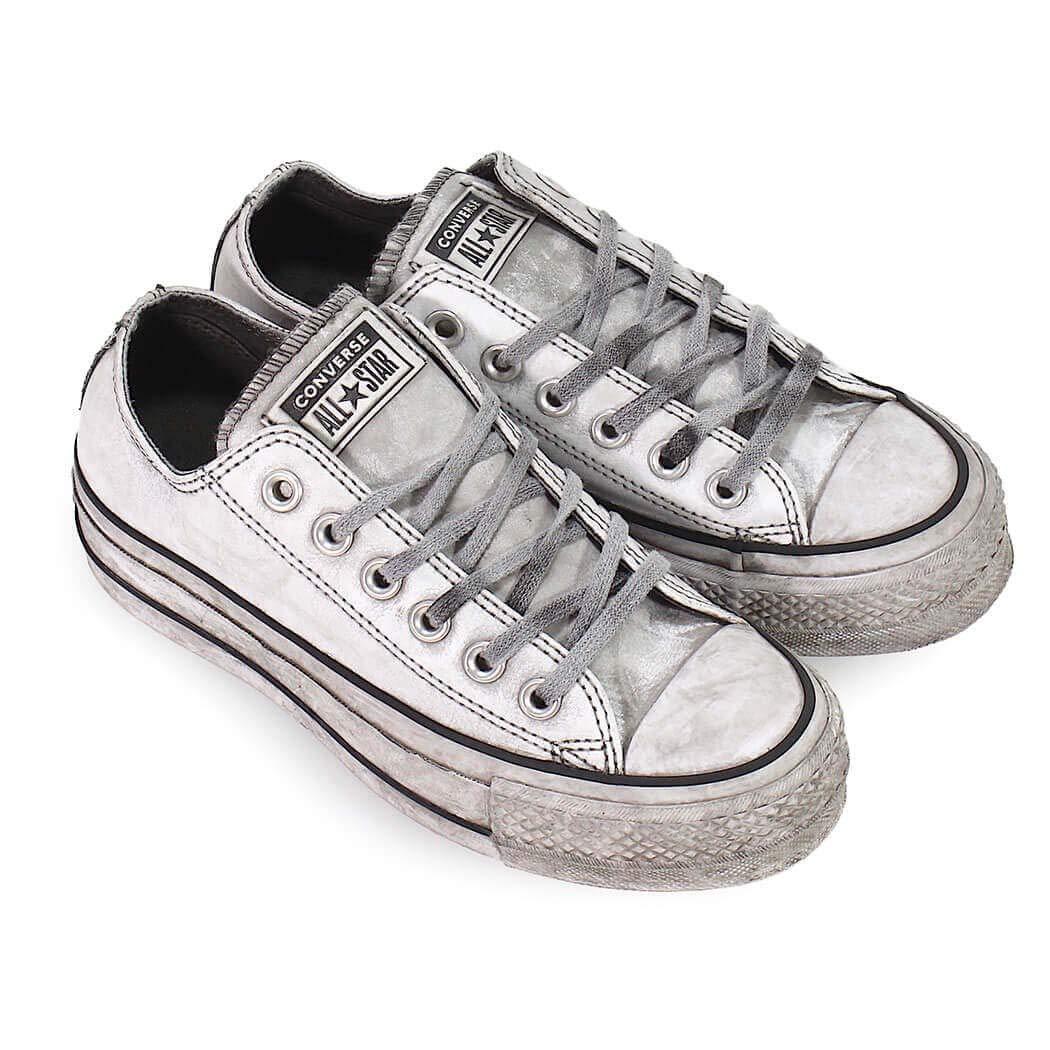 32625c74204 Converse Women s Shoes All Star Platform White Smoke in Sneaker Fall Winter  2019  Amazon.co.uk  Shoes   Bags