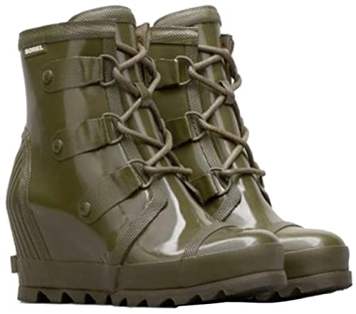 19583986dd0 Sorel Womens Joan Rain Wedge Gloss Rubber Boots  Sorel  Amazon.ca ...