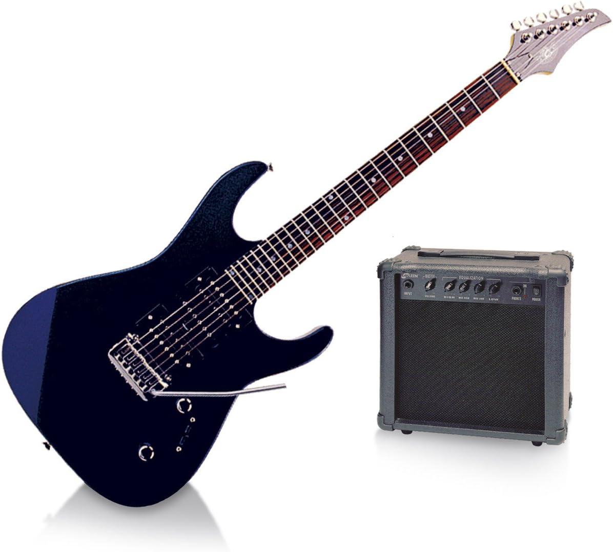 Legend pacrc100mbl Pack de Guitarra Eléctrica Tipo Ibanez, color azul metálico: Amazon.es: Instrumentos musicales
