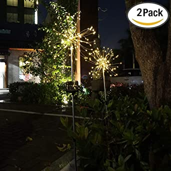 Lichterkette f/ür den Au/ßenbereich LED-Kugeln Solarpanel wasserdicht An//Aus automatisch hohe Leistung IP65 Forest