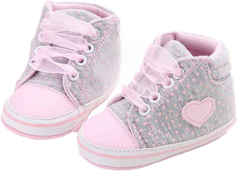 6781588f9632 Hffan Newborn Baby Girls Soft Sole Crib Toddler Shoes Anti-Slip ...