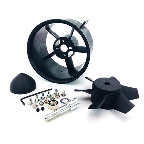 Amazon com: JFtech RC 90mm Duct Fan Unit 6-Blade Propeller Kit Set