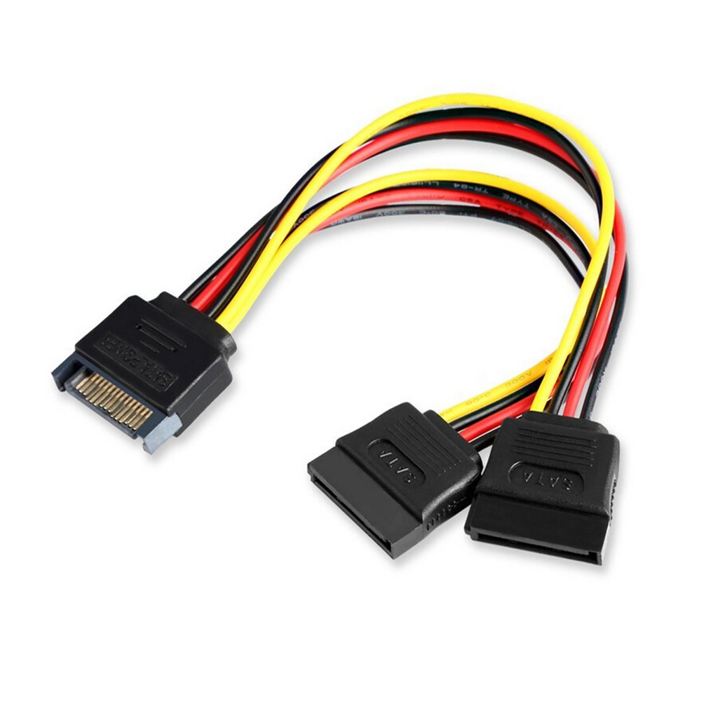 9daysminer 4x SATA Power Y Splitter Cable Adapter-19 Inches