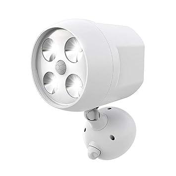 Luz de sensor de movimiento Luz de seguridad LED de 600 lúmenes para exteriores Luz de