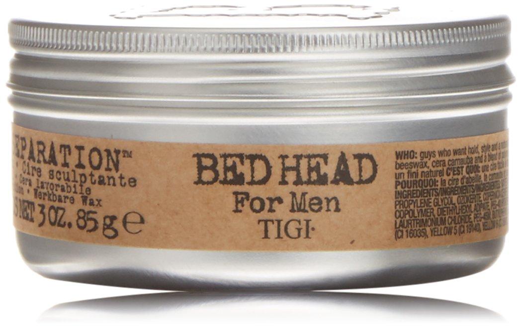 TIGI Bed Head For Men: Matte Separation Workable Wax, 3oz TIGI Cosmetics 0885580733971