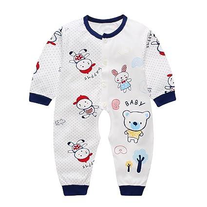 Xinantime - Recién nacido Pijama Bebés Algodón Niñas Niños Sleepsuit 1 Años (6-10