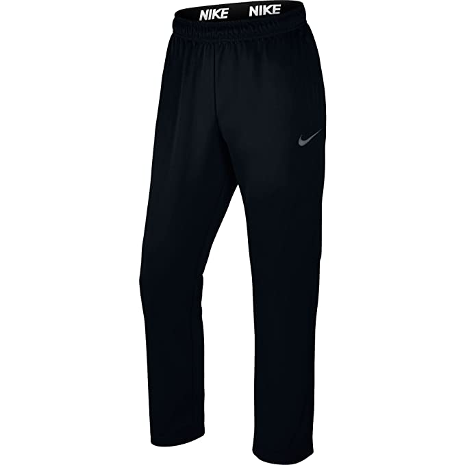 Nike Mens Therma Training Sweatpants Black/Dark Grey 800191-010 Size Small
