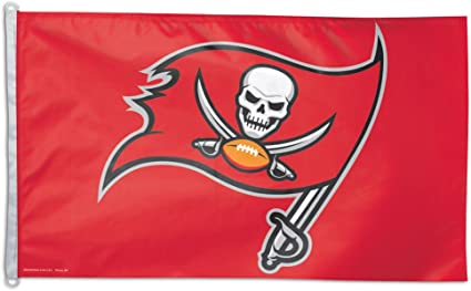 Amazon.com : NFL Tampa Bay Buccaneers Flag 3x5 Orange Logo TB Bucs ...