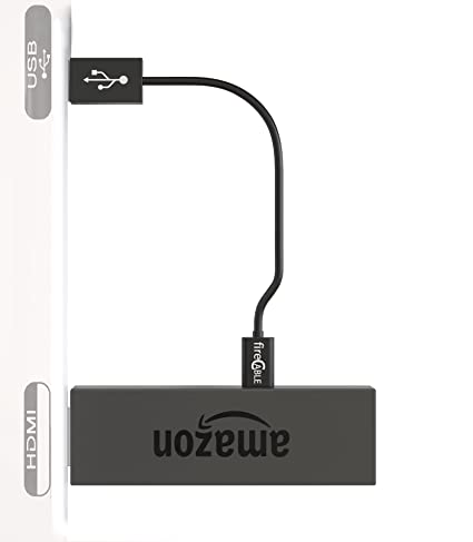 fireCable Micro USB Cable for Powering Any TV Stick Directly From TV USB  Power Port,