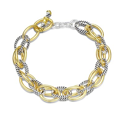 c0271083c2e06a UNY Bracelet Designer Brand Inspired Antique Women Jewelry Double Cable  Link Wire Vintage Valentine (2